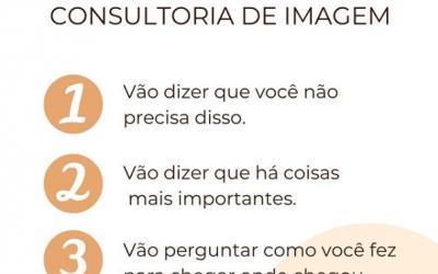3 etapas da consultoria de imagem!